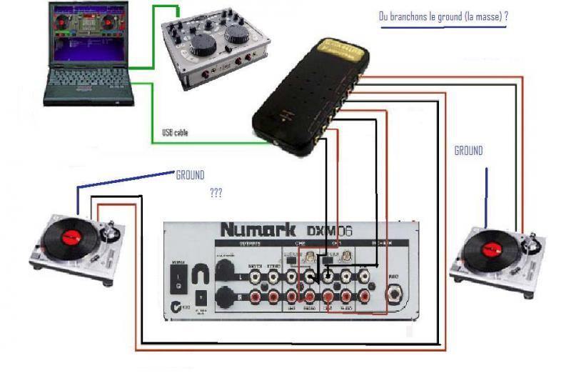 Virtual dj software comment brancher tout cela - Comment brancher une table a induction ...