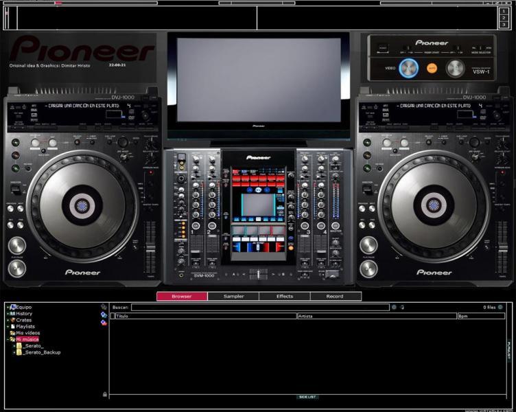 virtual dj skins pioneer dj sdunkero music