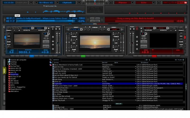 VIRTUAL DJ SOFTWARE - V-mix 6.0 beta