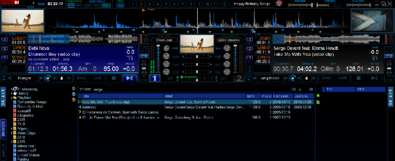 Atomix Virtual DJ Pro 7 Full Version, atomix Virtual DJ 7 Download: Softwar