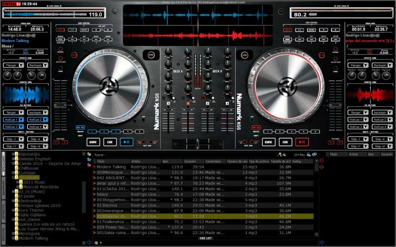 Virtual dj software skin pioneer cdj2000 nexus + djm900 nexus.
