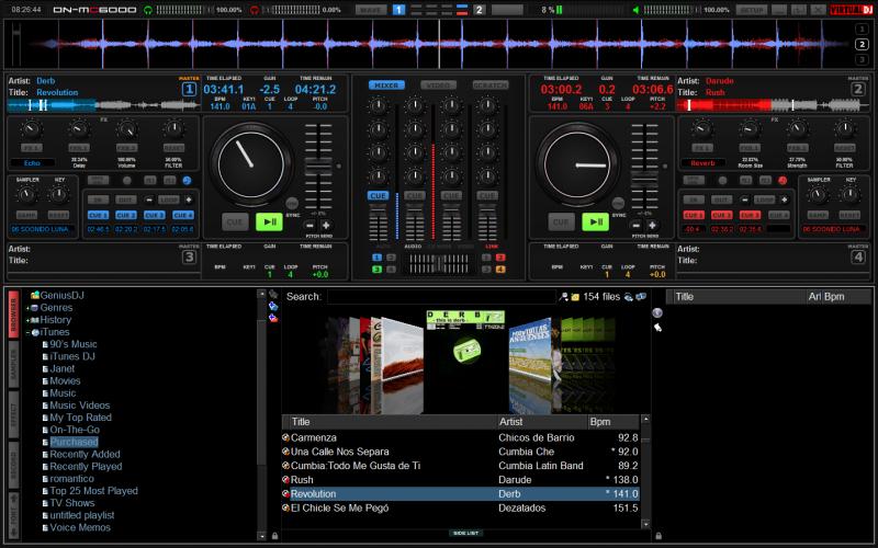 atomix virtual dj pro v4.1r2