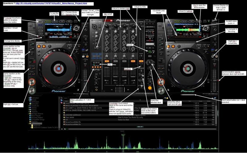 2000 DJ SKIN PIONEER VIRTUAL TÉLÉCHARGER CDJ GRATUIT POUR