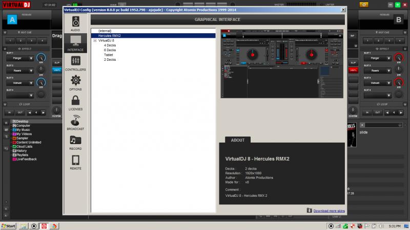 HERCULES DJ RMX2 + LIMITED EDITION LICENSE