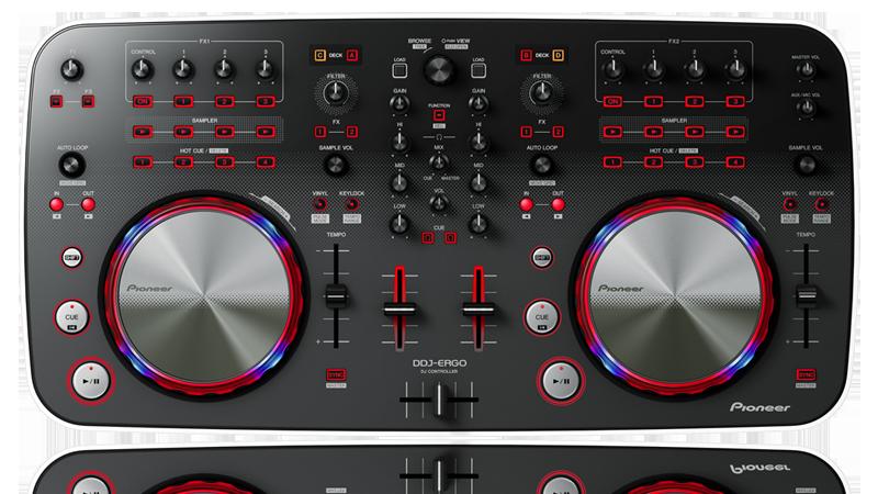 virtual dj pour pioneer ddj ergo