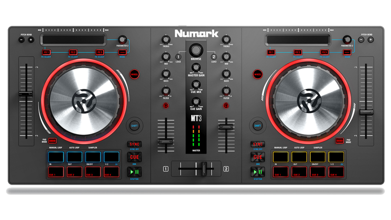DJ Software - VirtualDJ - Hardware - Numark 91c02bb40c1