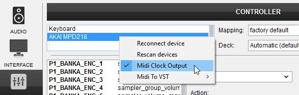 DJ Software - VirtualDJ - Hardware Manuals - AKAI - MPD218